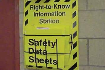 HAZCOM - Safety Data Sheet (SDS) Toolbox Talk