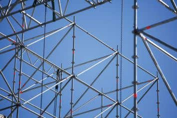 Tubular Welded Frame Scaffold Erectors for Construction