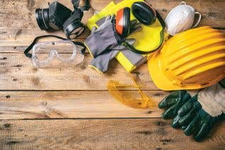 Personal Protective Equipment for Construction - Spanish