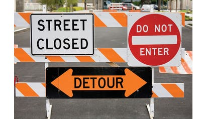 Signs Signals Barricades for Construction