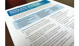 HAZCOM - Safety Data Sheet (SDS) Toolbox Talk