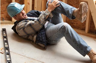 Slips, Trips and Falls for Construction