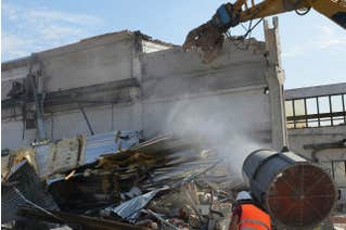 Dust Disturbance and Mitigation for Construction