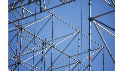 Tubular Welded Frame Scaffold Erectors for Construction