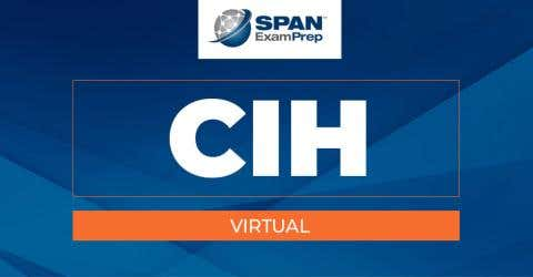 CIH Virtual Workshop - January 26-28, 2021