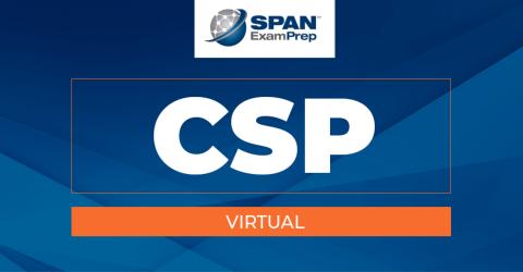 CSP Virtual Workshop - October 26-28, 2021