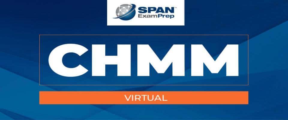 CHMM Virtual Workshop - May 18-20, 2021