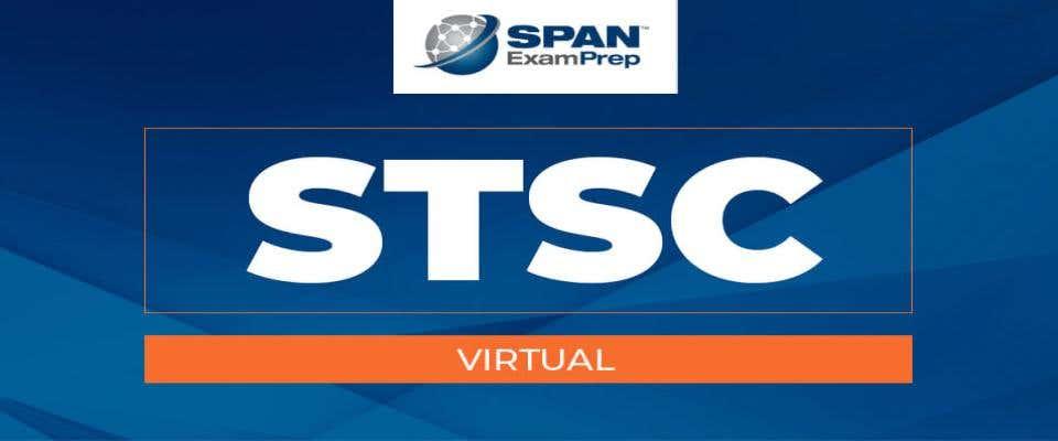 STSC Virtual Workshop - March 12, 2021