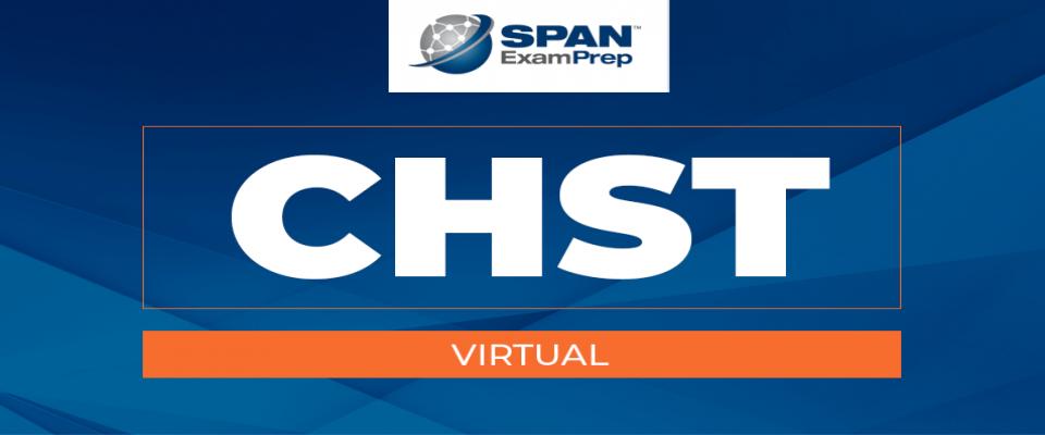 CHST Virtual Workshop - January 12-14, 2021